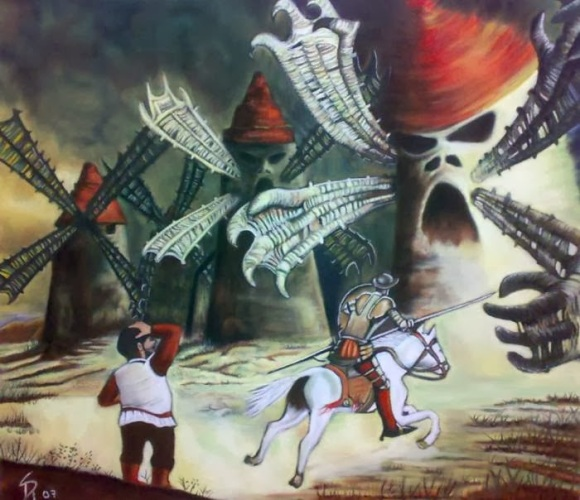 Don Quijote molinos